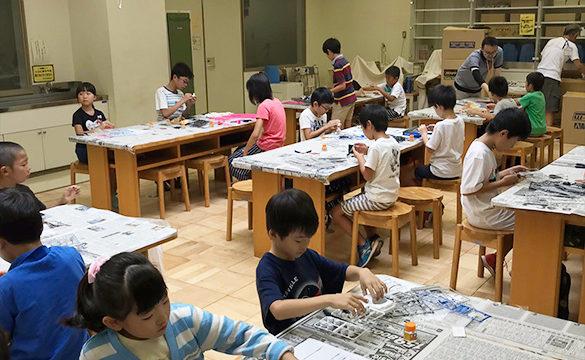 創作ミキシングビルド模型教室