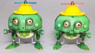 カエル型ロボ