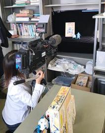 SBSテレビ「ORANGE」に取材していただきました